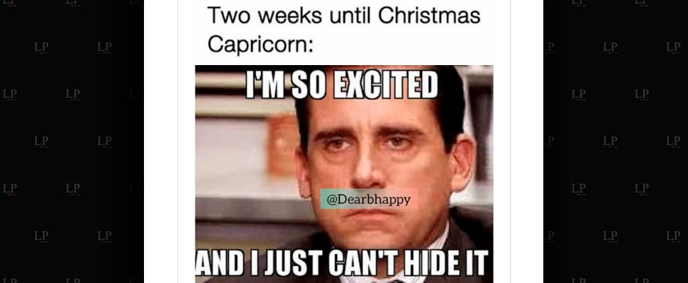 Capricorn season memes are finally here