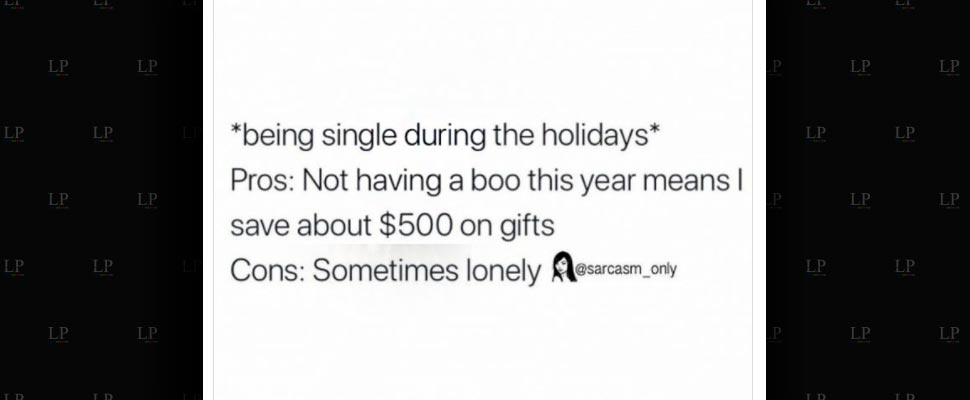 Singles' memes for the holidays
