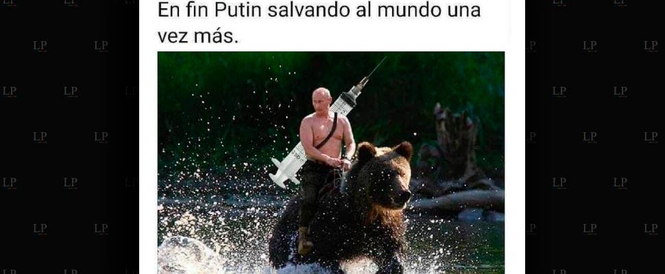 Los mejores memes sobre Putin