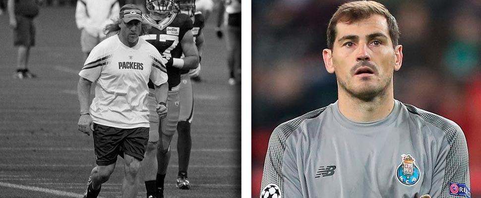 Kevin Greene e Iker Casillas