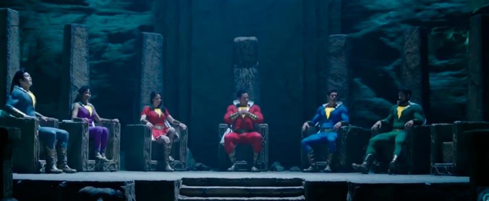 Fotograma de la película 'Shazam 2: The Black Adam Age'