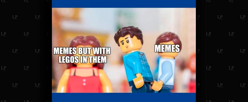 We build these memes with LEGO