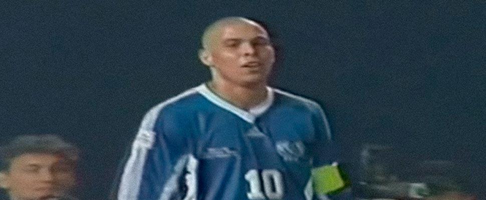 Fotograma del partido de World All Stars vs Europe All Stars 1997