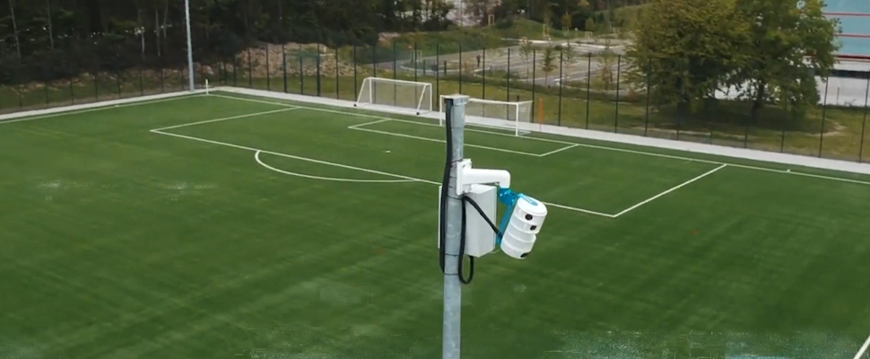 Pixellot device on field