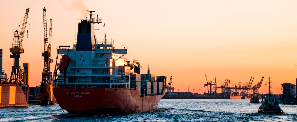 What would the increasing use of natural gas on ships imply?
