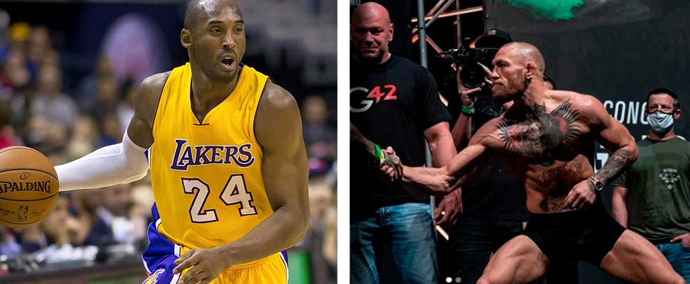 Kobe Bryant and Conor McGregor