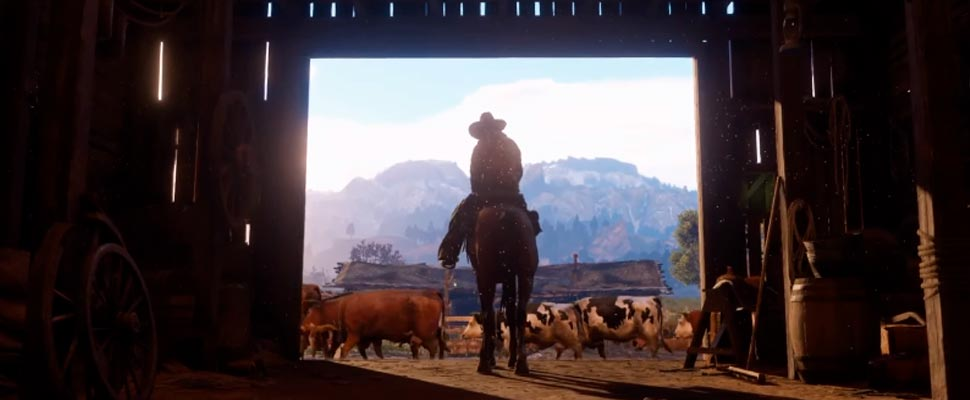 Still from the trailer for the video game 'Red Dead Redemption 2'
