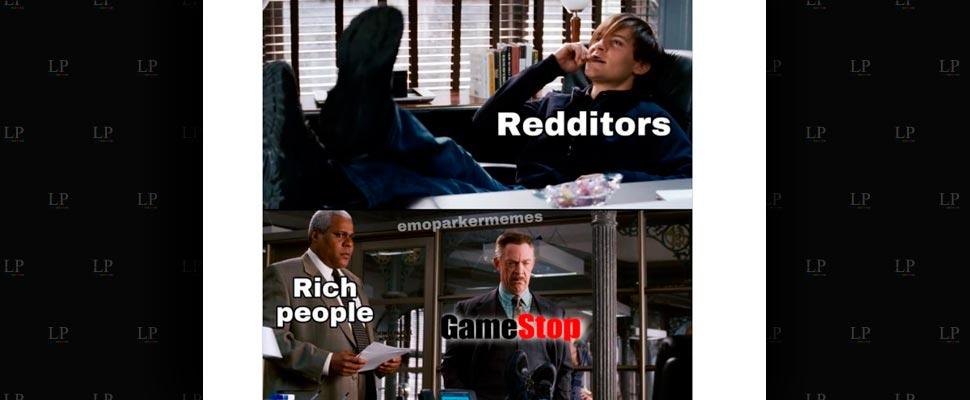 Best Memes on Wall Street vs Reddit and GameStop