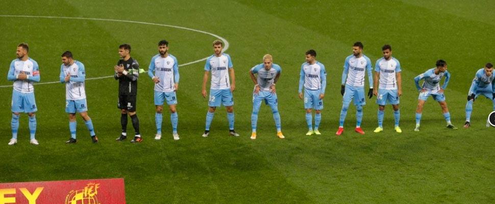 Eleven holder of Málaga FC