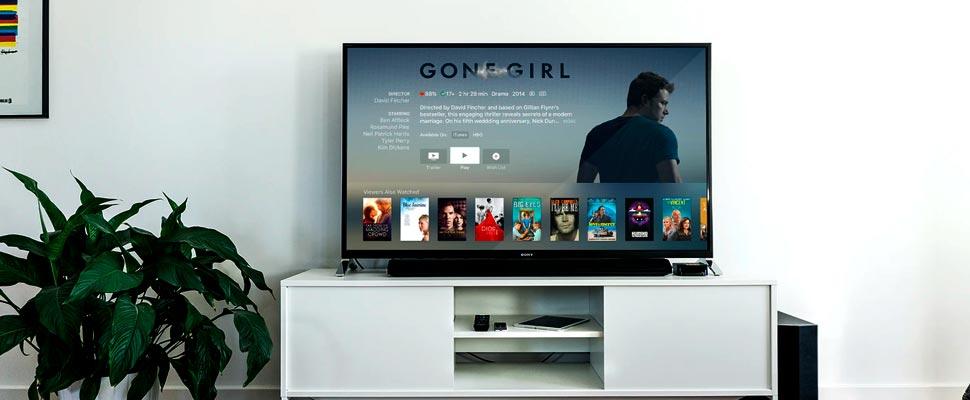 Televisor con una plataforma de streaming