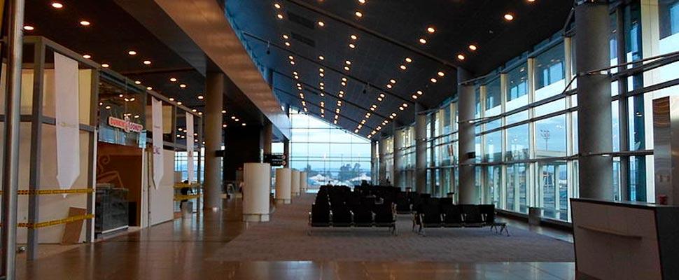 Terminal de vuelos del aeropuerto El Dorado