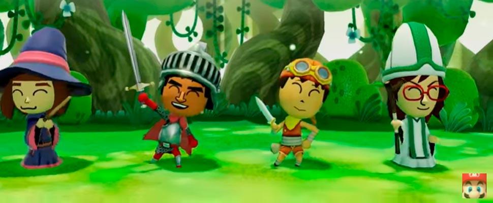 Fotograma del tráiler del videojuego 'Miitopia'