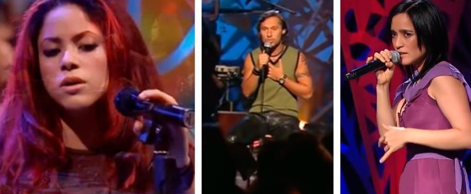 10 grandes conciertos de los MTV Unplugged en español