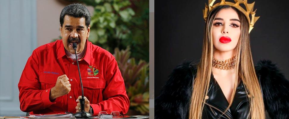Nicolás Maduro y Emma Coronel Aispuro