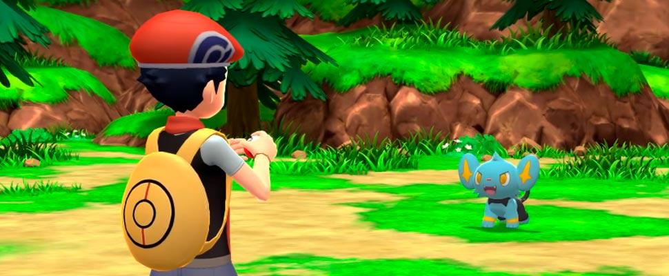 Frame of the video game trailer 'Pokémon Shining Diamond and Pokémon Shining Pearl'