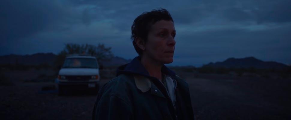 Fotograma de la película 'Nomaland'