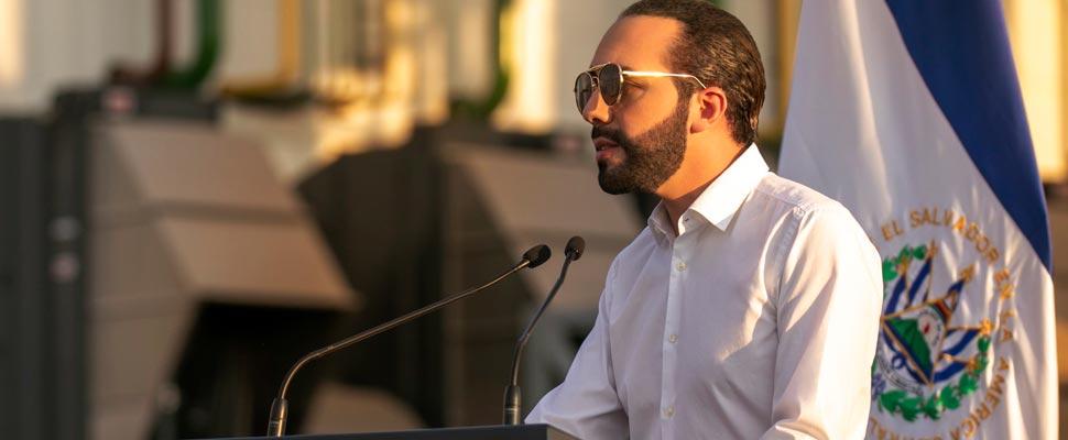 Nayib Bukele, President of El Salvador
