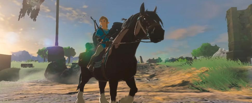 Still from the video game 'The Legend of Zelda: Breath of the Wild'