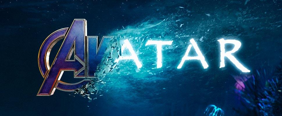 Póster de Avengers a Avatar