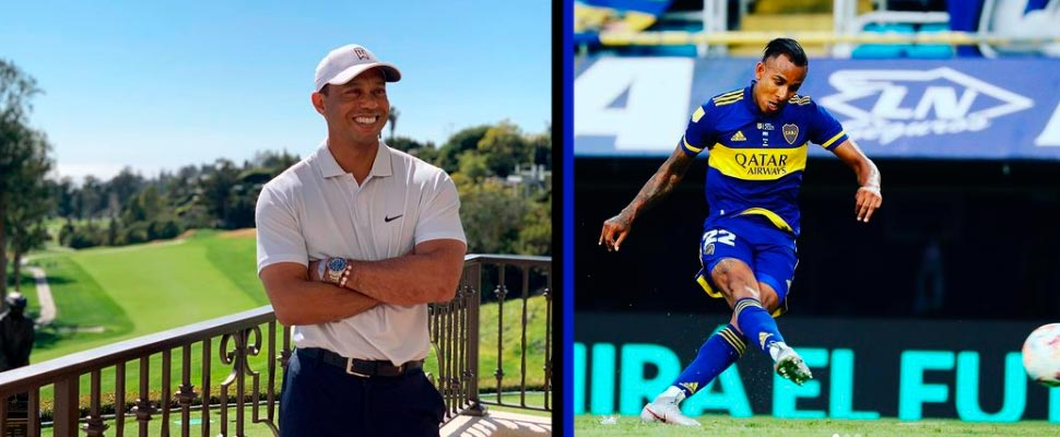 Racism against Colombian players, Tiger Woods recovery and other sports news