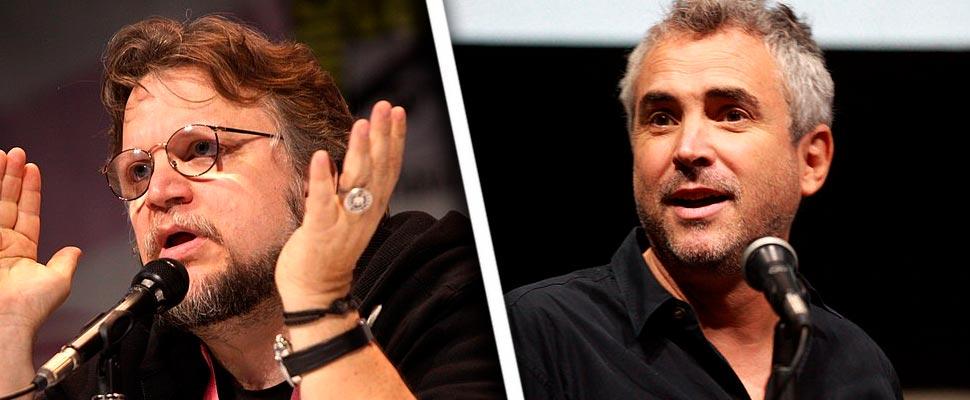 Guillermo del Toro and Alfonso Cuarón