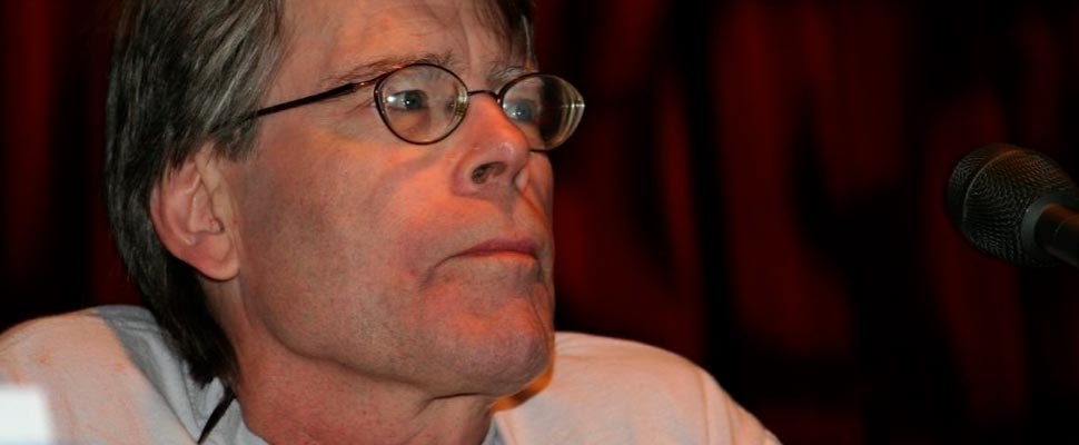 Stephen King at ComicCon