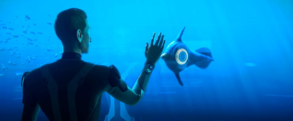 Fotograma del tráiler del videojuego 'Subnautica'