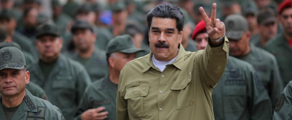 Does Maduro have oil to buy vaccines?
