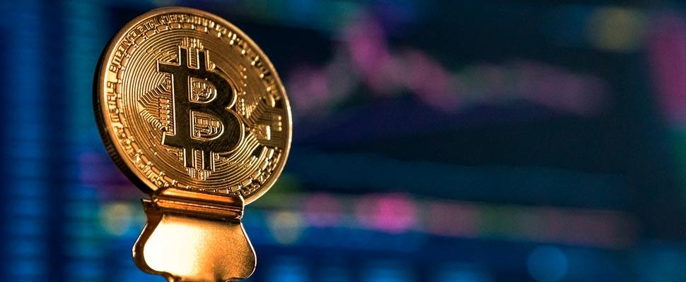 Monedas de bitcoin