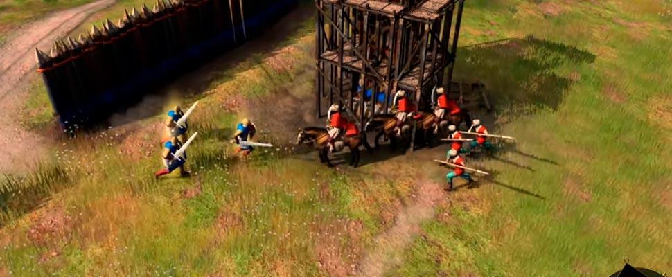 Fotograma del tráiler del videojuego 'Age of Empirtes IV'