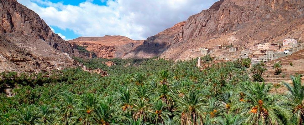 View of a mountainous landscape