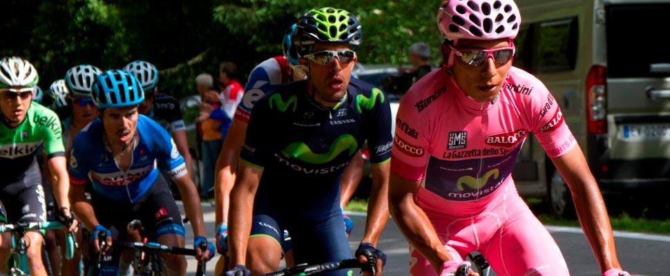 Nairo Quintana en el Giro d'Italia