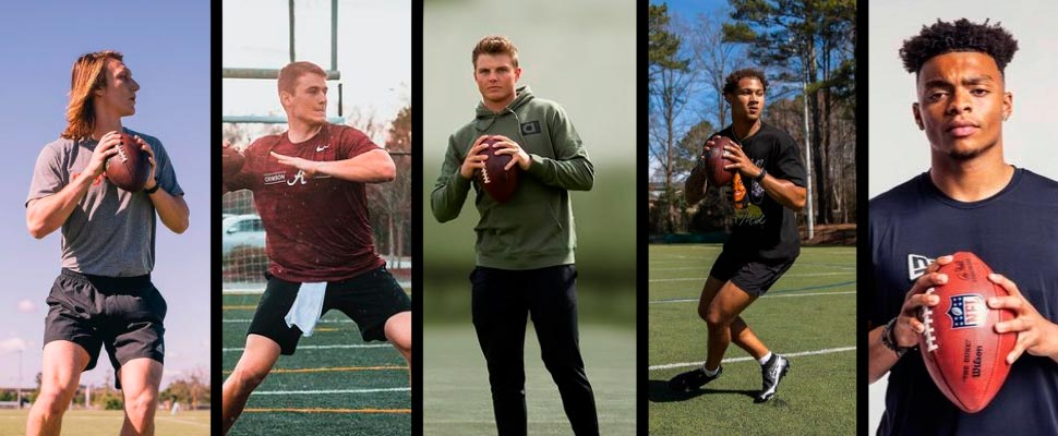 The new generation of quarterbacks from the NFL draft