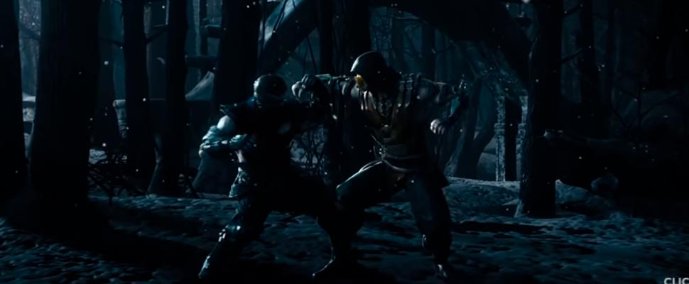 Still from the trailer for the video game 'Mortal Kombat X'