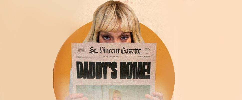 Cover of the album 'Daddy's Home' by St. Vincent