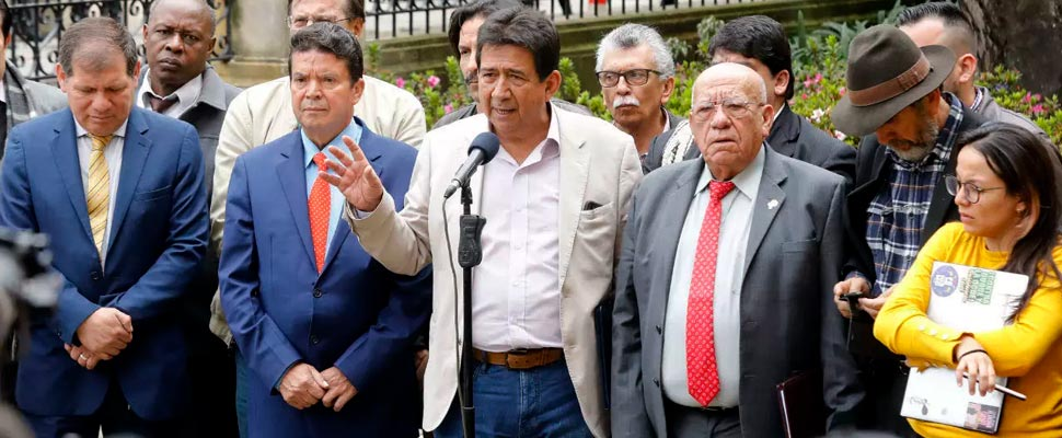 Unemployment Committee after the meeting at Nariño's house