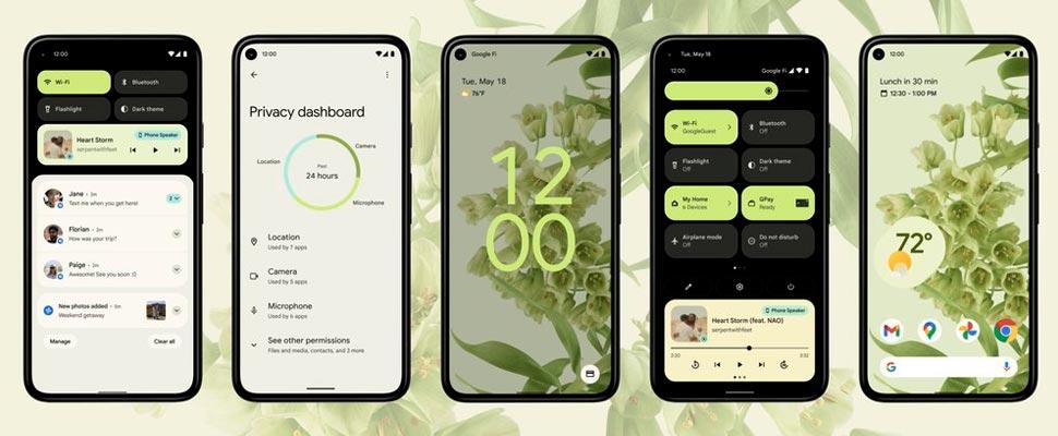 Android 12: todas las novedades para un rediseño total de tu smartphone