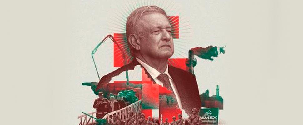 Cover of The Economist magazine about López Obrador