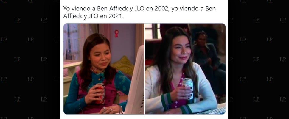 Los mejores memes de JLo y Ben Affleck