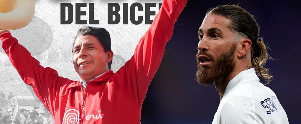 Pedro Castillo and Sergio Ramos