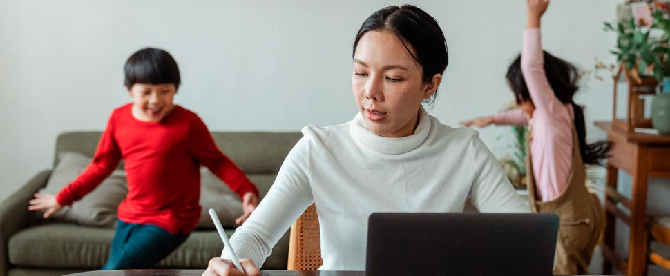 Does Teleworking Promote Stereotypes in Women's Roles?