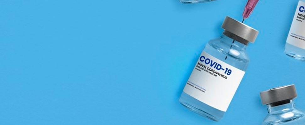 COVID-19 vaccine vial