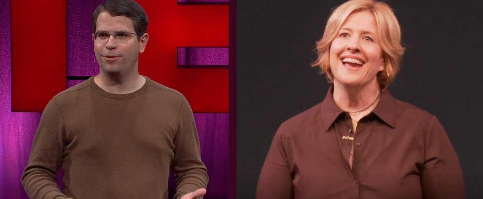 Matt Cutts and Brené Brown