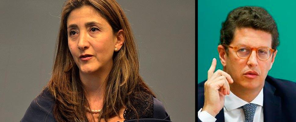 Ingrid Betancourt y Ricardo Salles