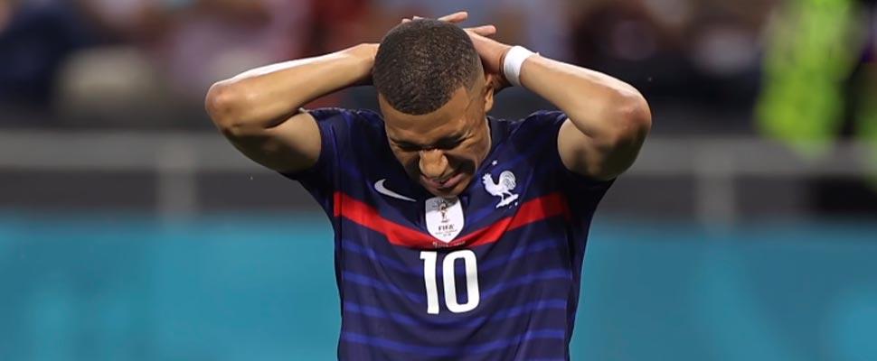 Francia en la Eurocopa: la más reciente de una larga lista de decepciones