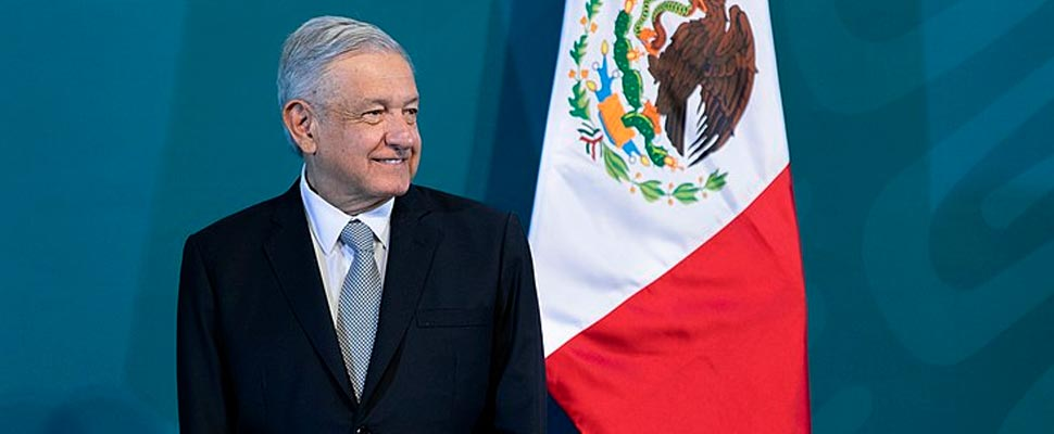 Andrés Manuel López Obrador, Constitutional President of the United Mexican States, during his morning conference