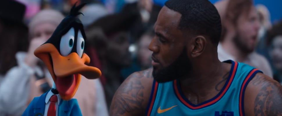 Still from the movie 'Space Jam: A New Legacy'