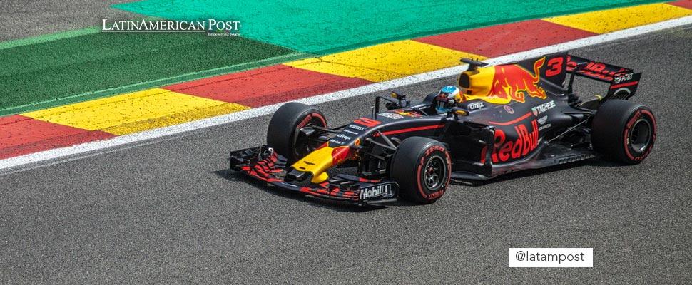 Redbull racing car