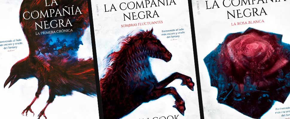 Glen Cook's 'Black Company' book covers