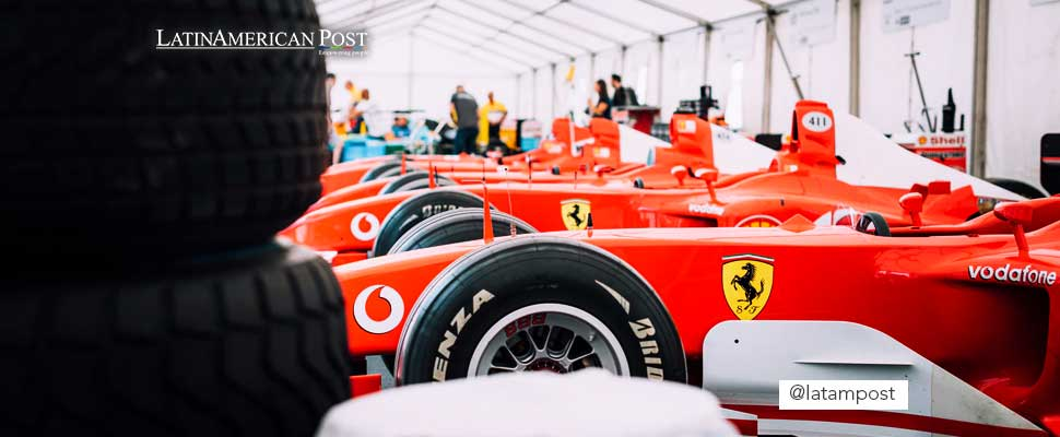 Carros de carreras de la Fórmula 1